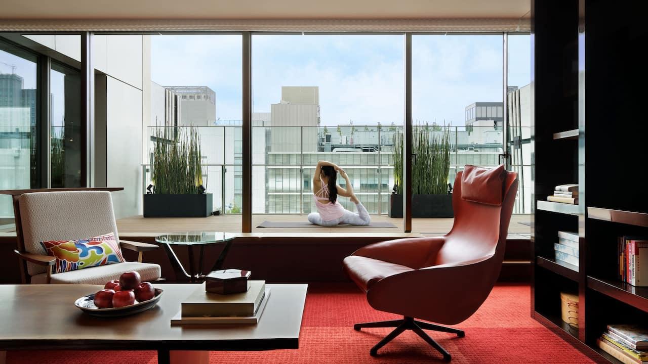 Hyatt Centric Ginza Tokyo Yoga