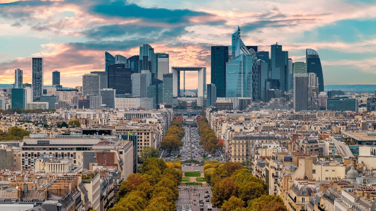 Hyatt-Regency-Paris-Etoile-Sunset-La-Defense