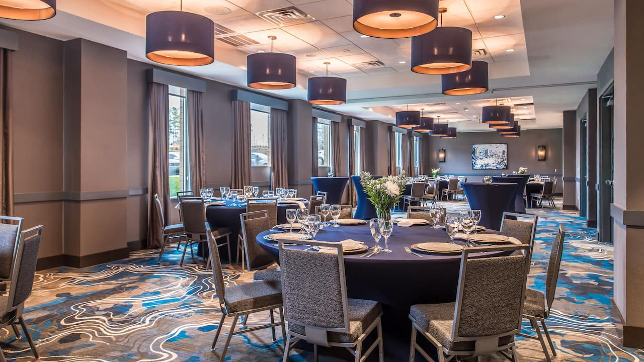 Hyatt House Raleigh / RDU / Brier Creek Ballroom Reception