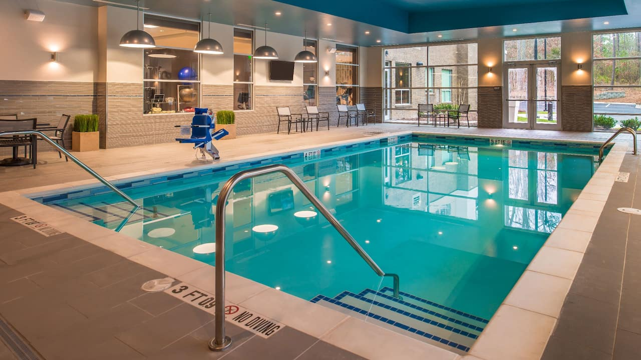 Hyatt House Raleigh / RDU / Brier Creek Indoor Pool