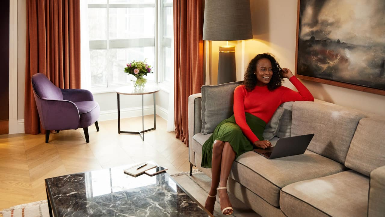 Luxury accommodation near Hyde Park | Hyatt Regency London - The Churchill