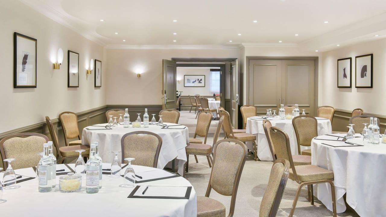 Marlborough meeting room set up at Hyatt Regency London - The Churchill