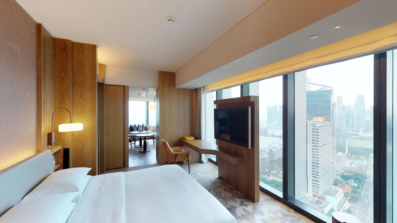 Andaz Studio Suite at The Andaz Singapore Hotel