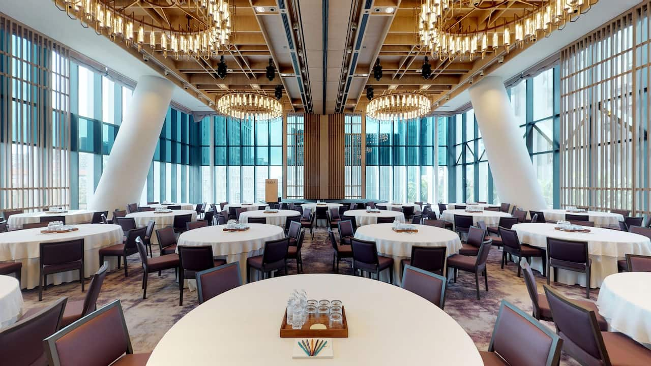 The Glasshouse 'glass-box' Event Venue Andaz Singapore