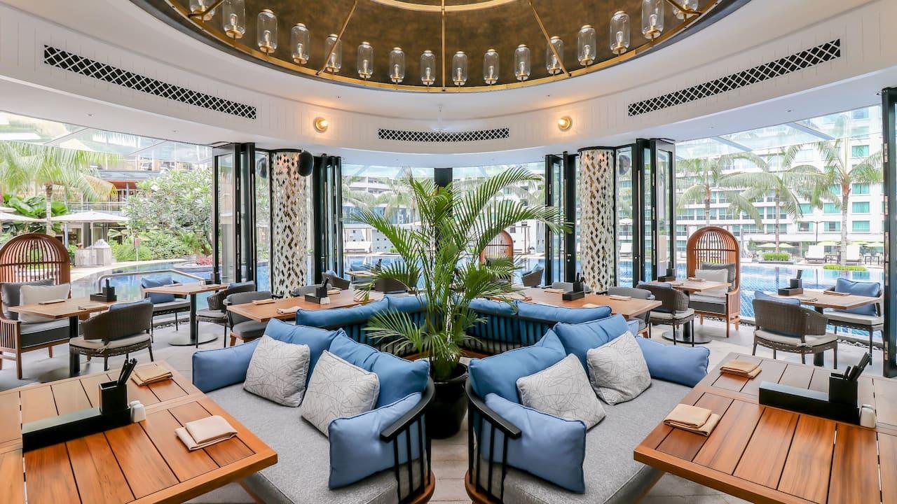 Grand Hyatt Kuala Lumpur - Poolhouse Dining Area