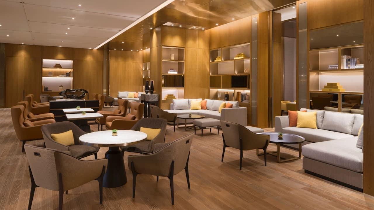 Hyatt Regency Shenzhen Airport hotel lobby