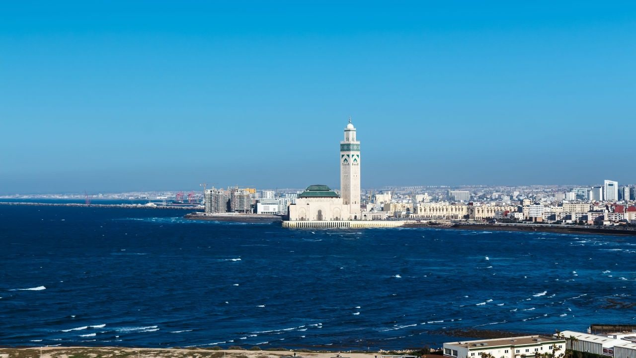 Hassan II Mosque of Casablanca