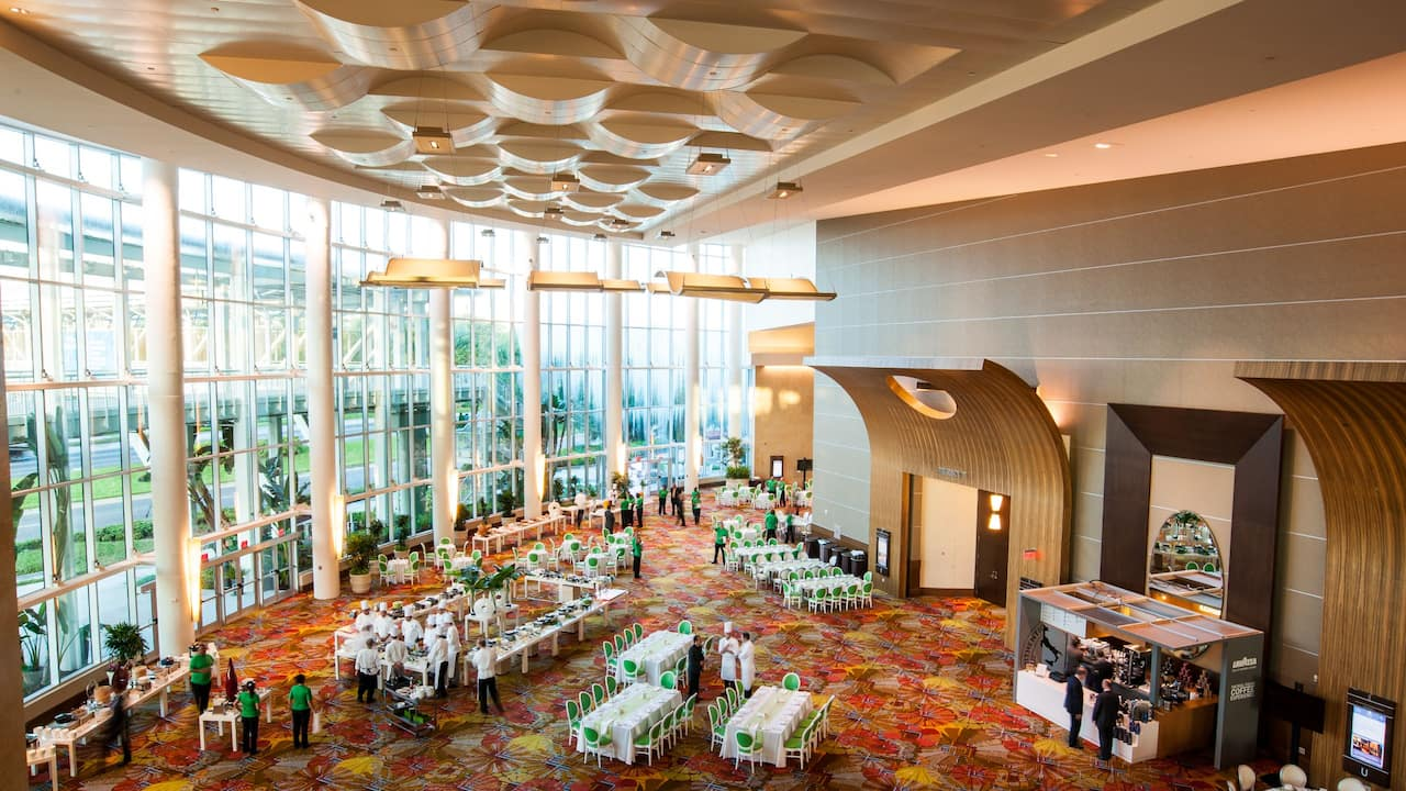 Rotunda at Hyatt Regency Orlando