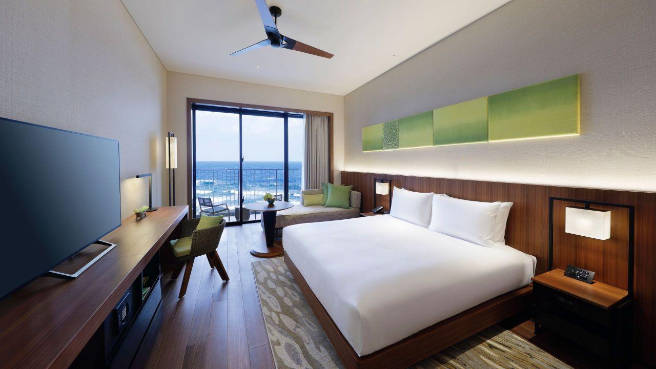 Seragaki Island Suite Bedroom