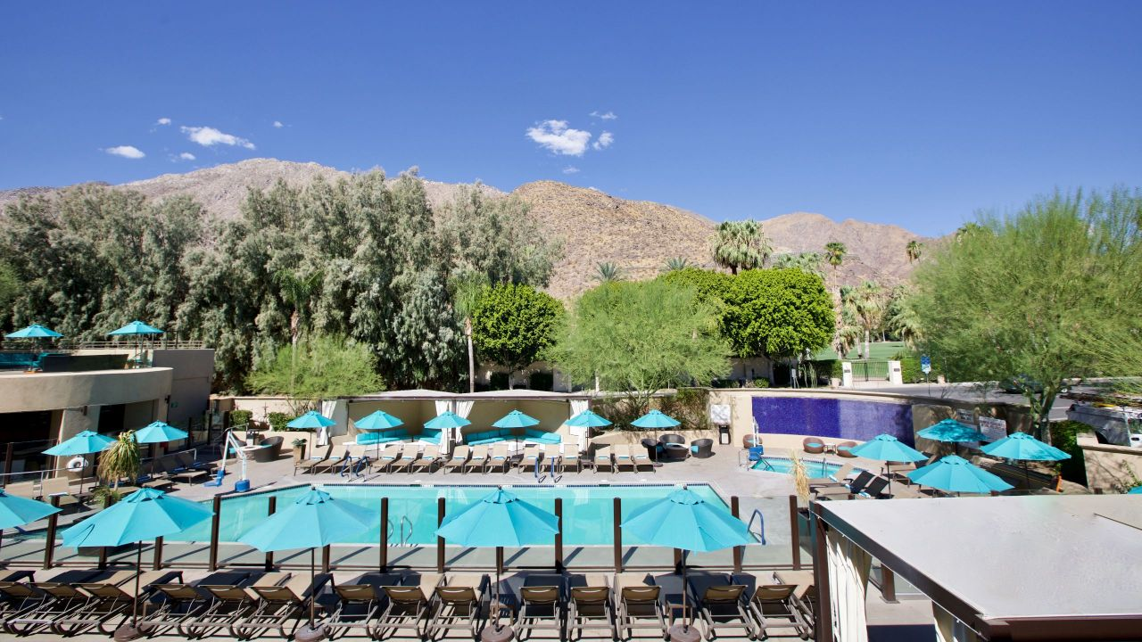 Hyatt Palm Springs Pool View