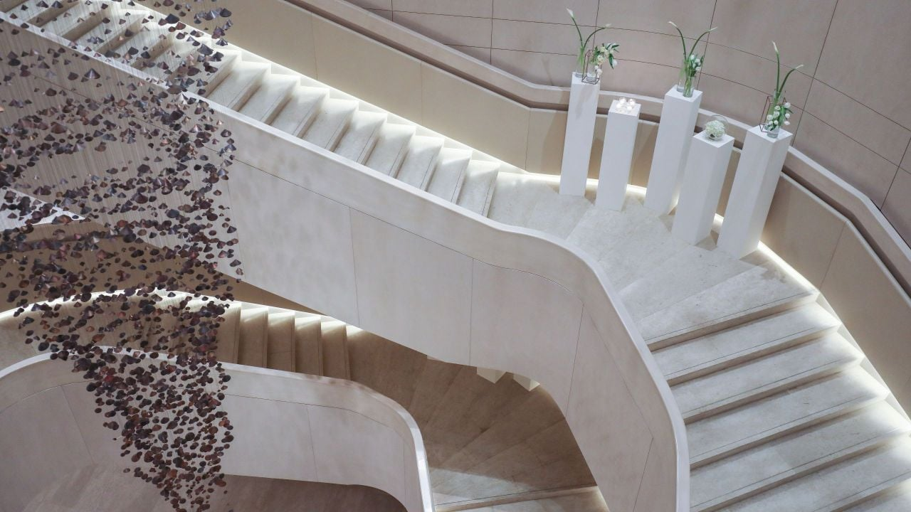 Wedding Atelier Staircase