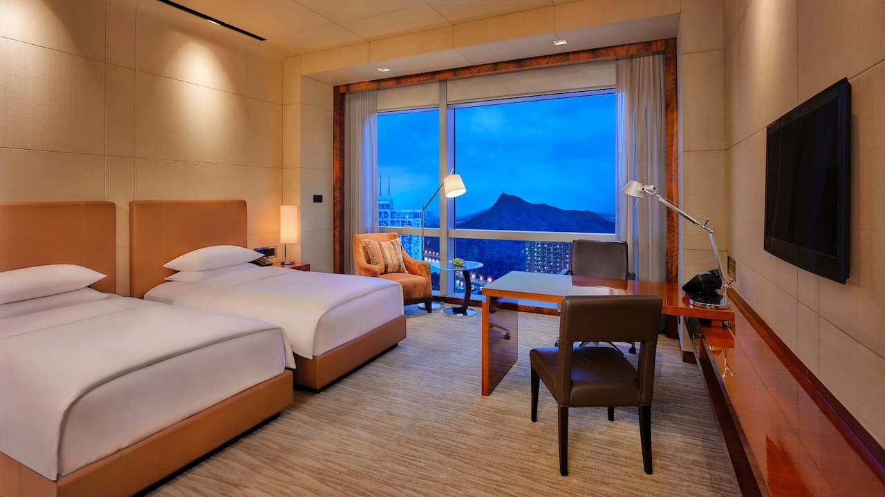 Grand Hyatt Shenzhen Twin Beds View