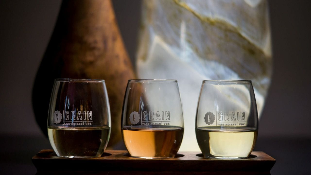 Grain Wine Tasting Flight