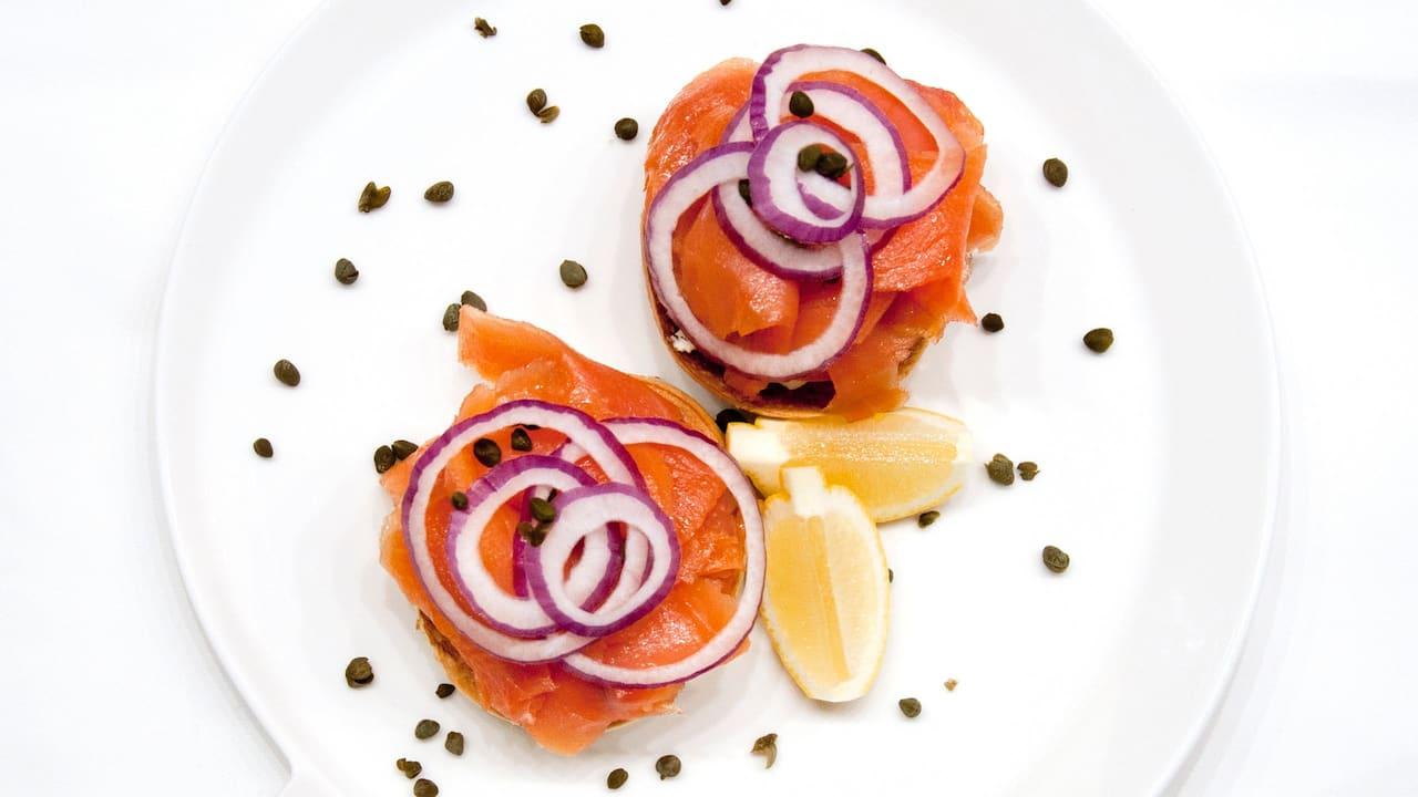 Unity LA Salmon Bagel