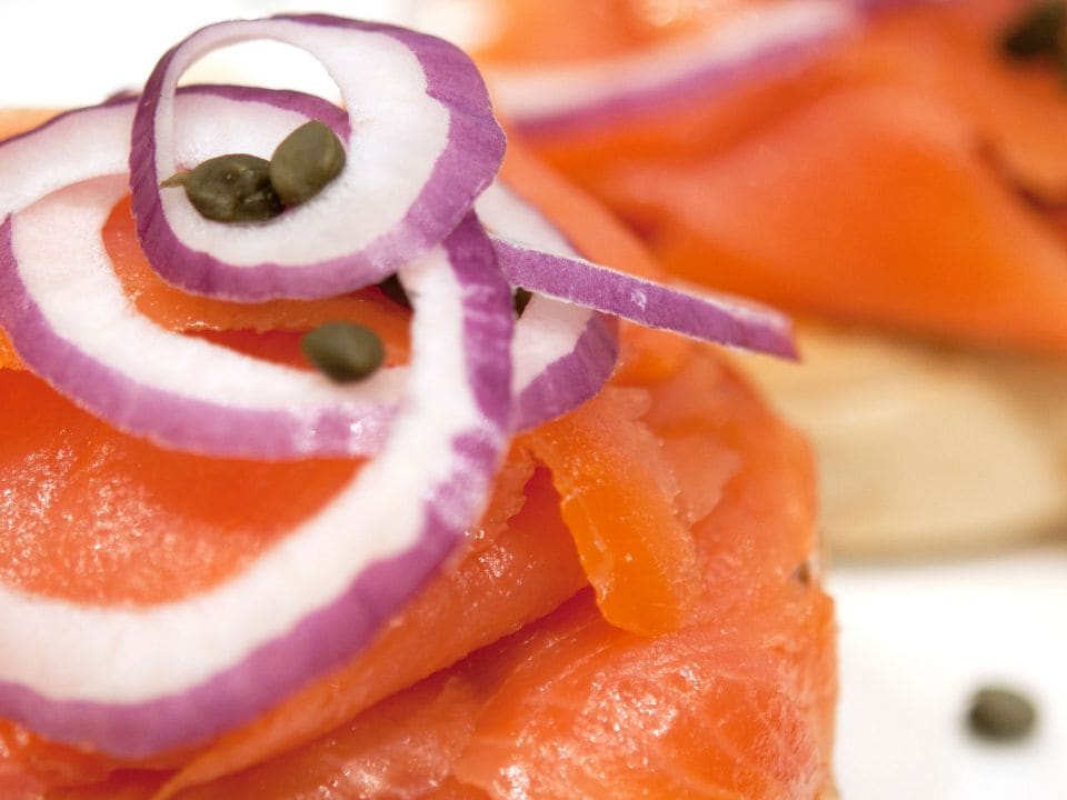 Lox Bagel at Hyatt Regency Los Angeles International Airport