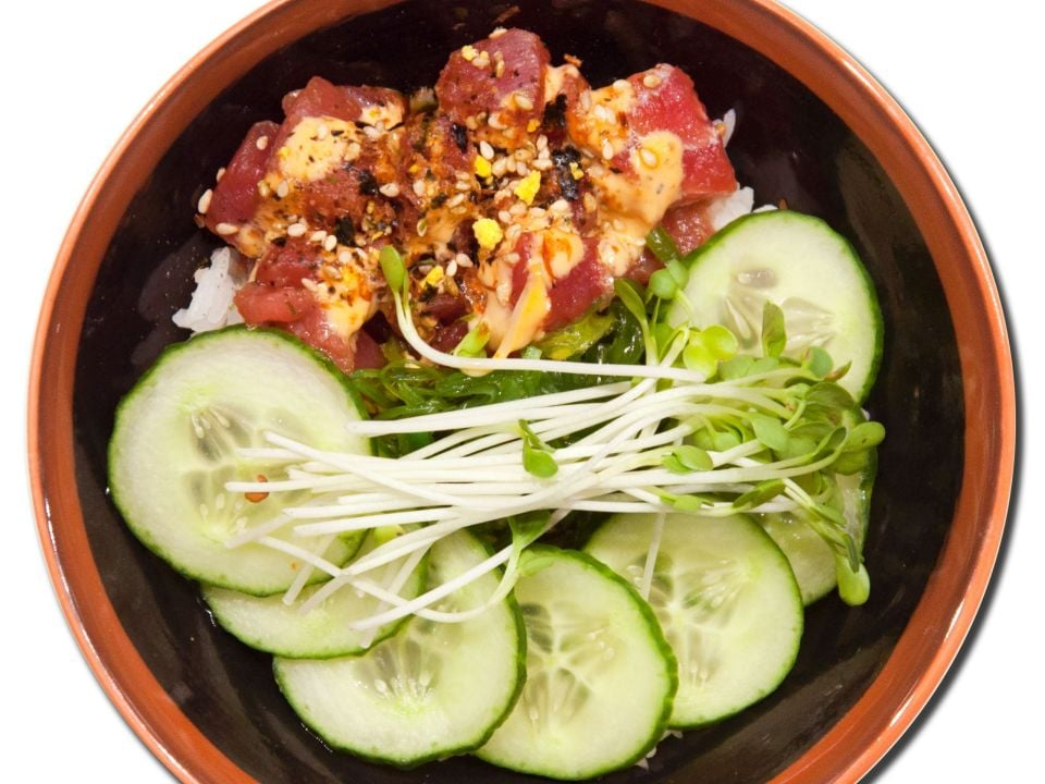 Poke from unity la Hyatt Regency Los Angeles International Airport