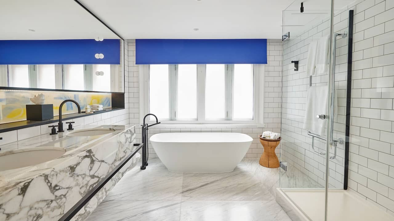 RED Suite Bathroom | Andaz London Liverpool Street