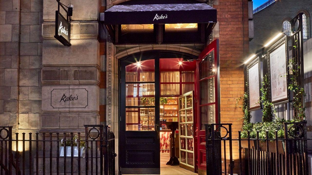 Rake's Cafe Bar near Liverpool Street station