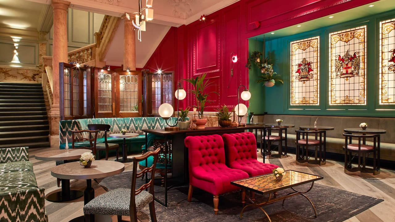 Cafe bars in East London | Andaz London Liverpool Street