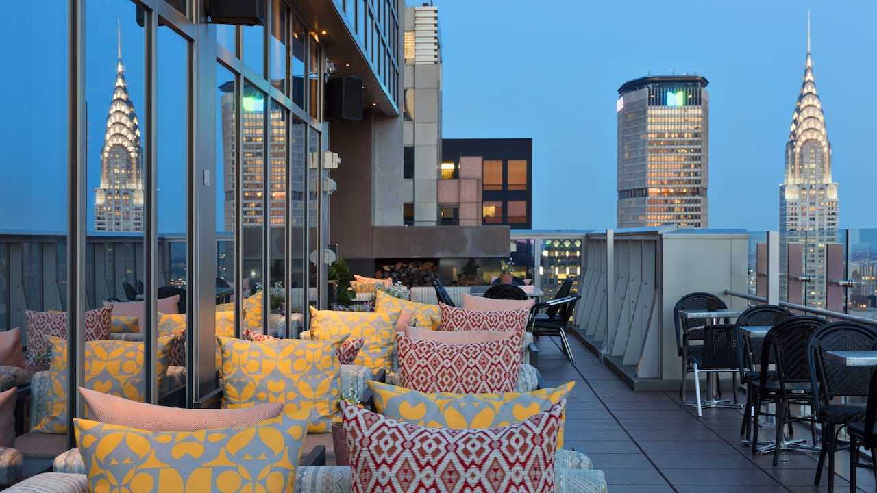 Hyatt Centric Times Square New York Rooftop Bar