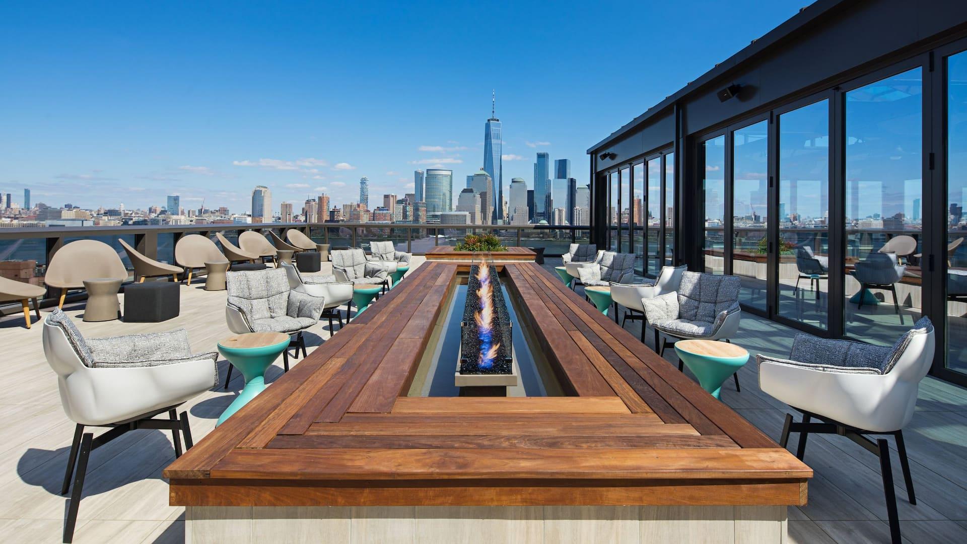 Hyatt House Jersey City Rooftop