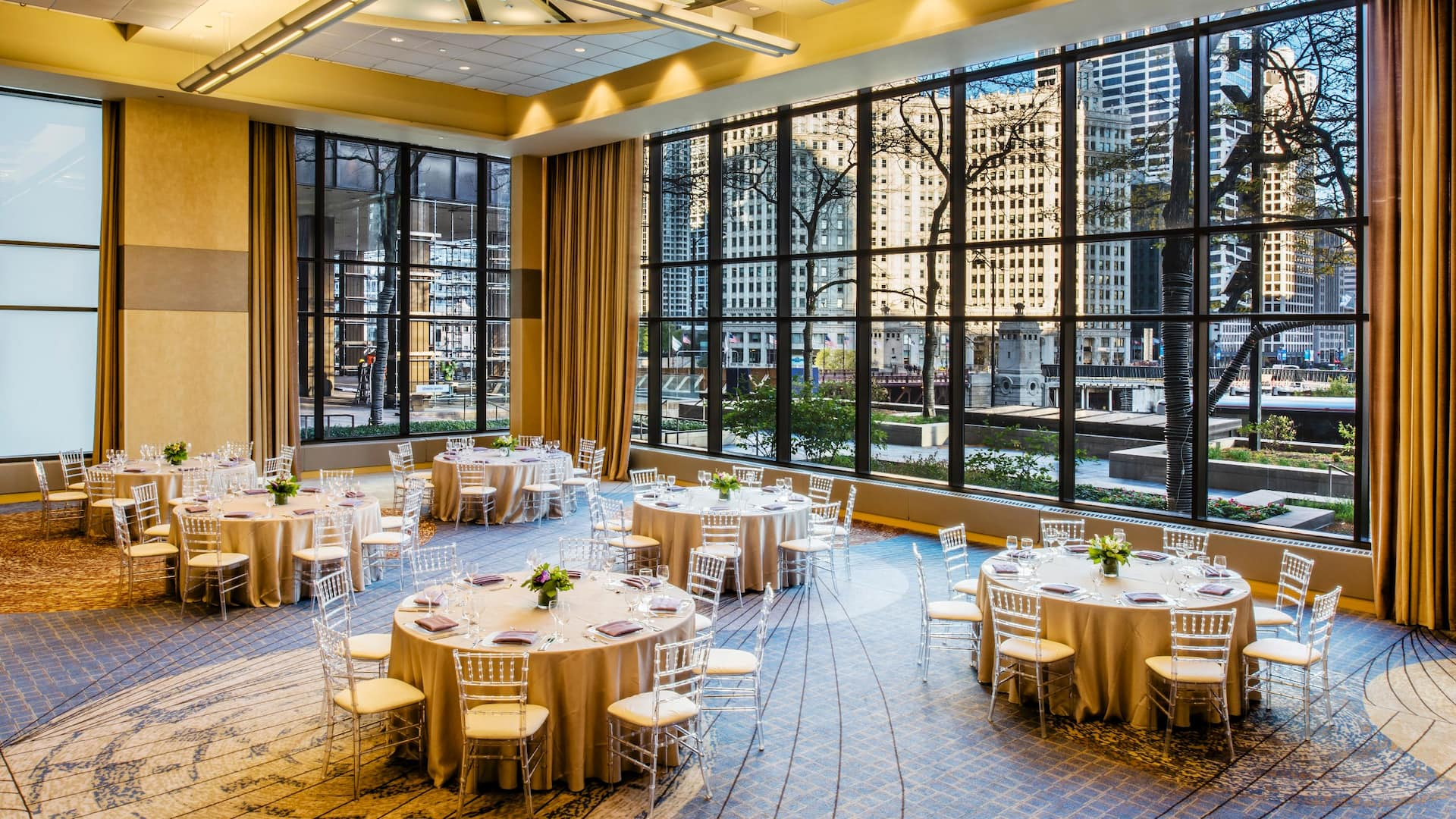 : Chicago Hotel Event Space – Crystal Ballroom at Hyatt Regency Chicago