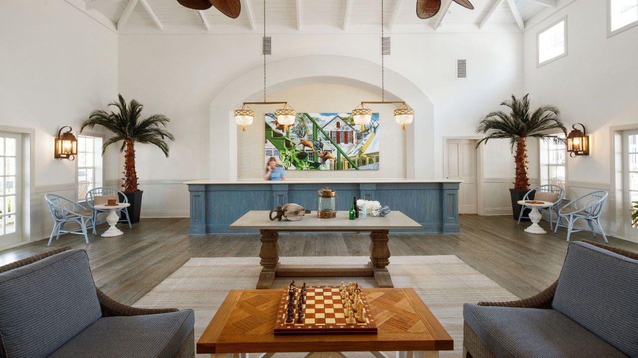 Beach House Lobby