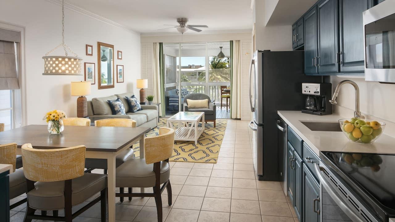 Beach House Living Kitchen