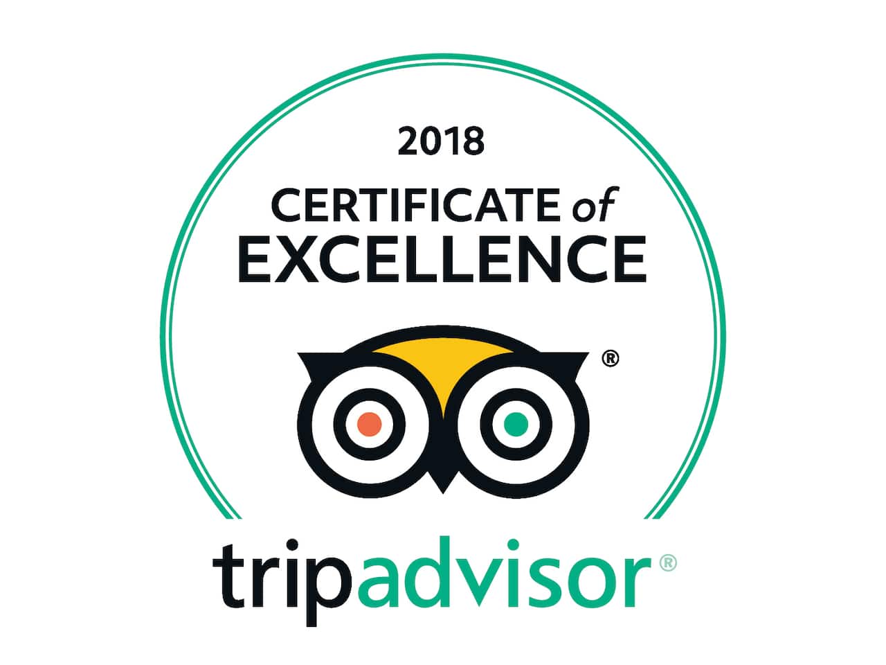 TripAdvisor Hall of Fame Certificate of Excellence logo