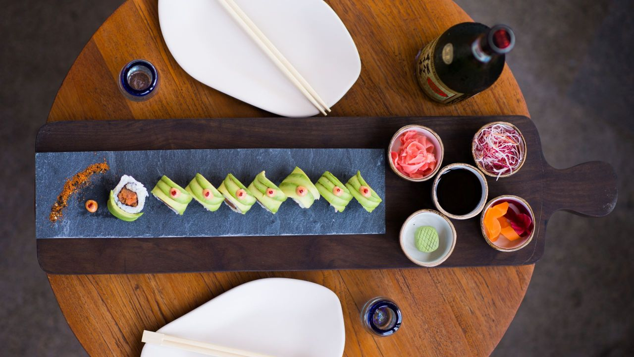 Sushi Roll Table