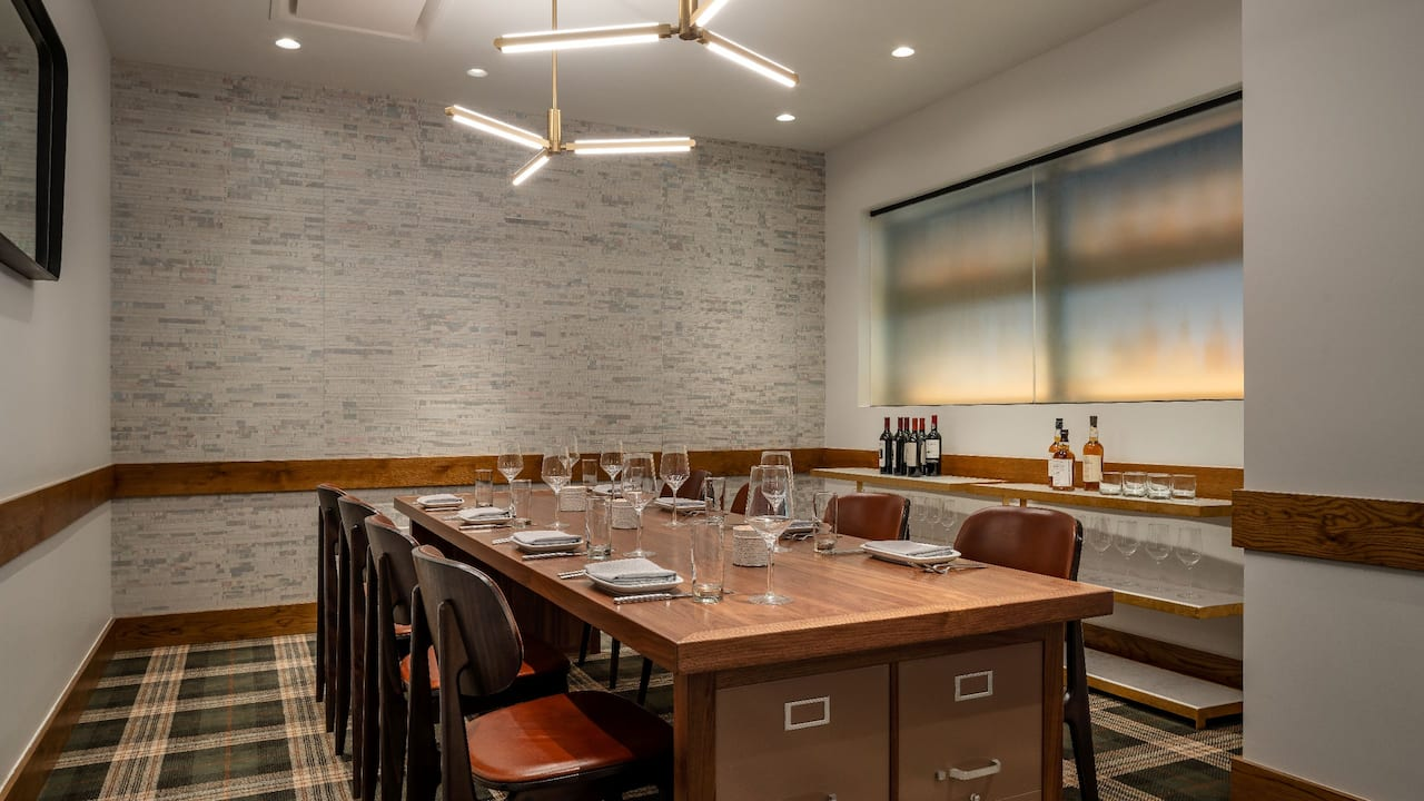 Courier Private Dining
