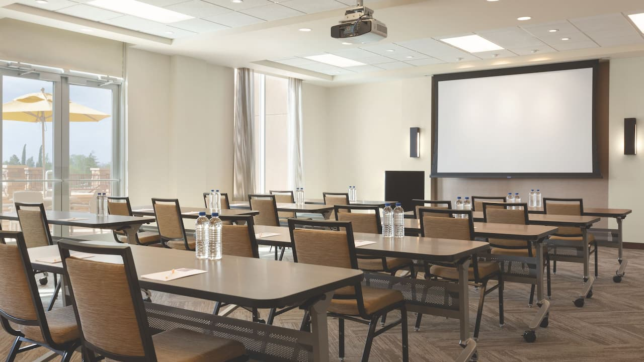 Hyatt Place Page Lake Powell Classroom Style Meeting Space