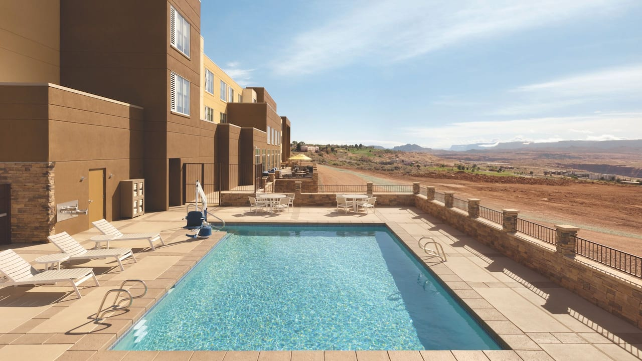 Hyatt Place Page Lake Powell Outdoor Pool