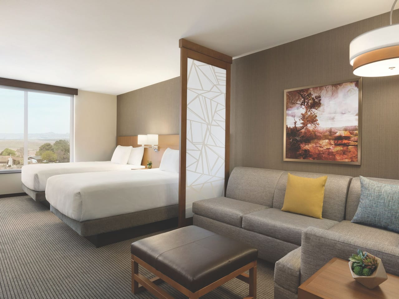 Hyatt Place Page Lake Powell Guestroom with Two Queen Beds