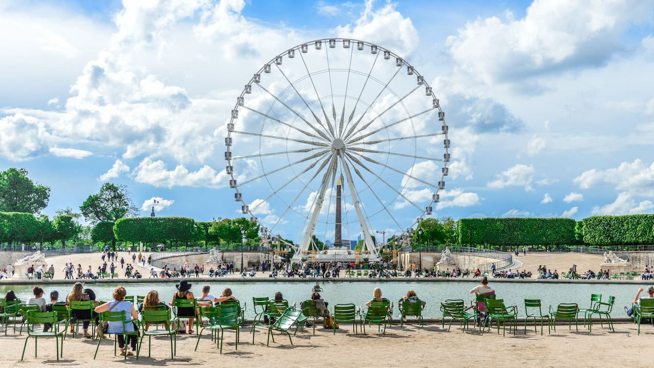 Things to do in Paris - Tuileries Garden - Hotel du Louvre