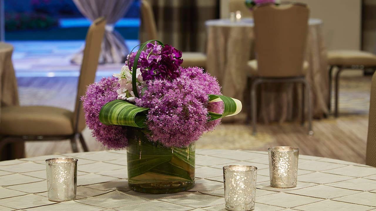 Dogwood Table Setting Hyatt Regency Atlanta Perimeter at Villa Christina