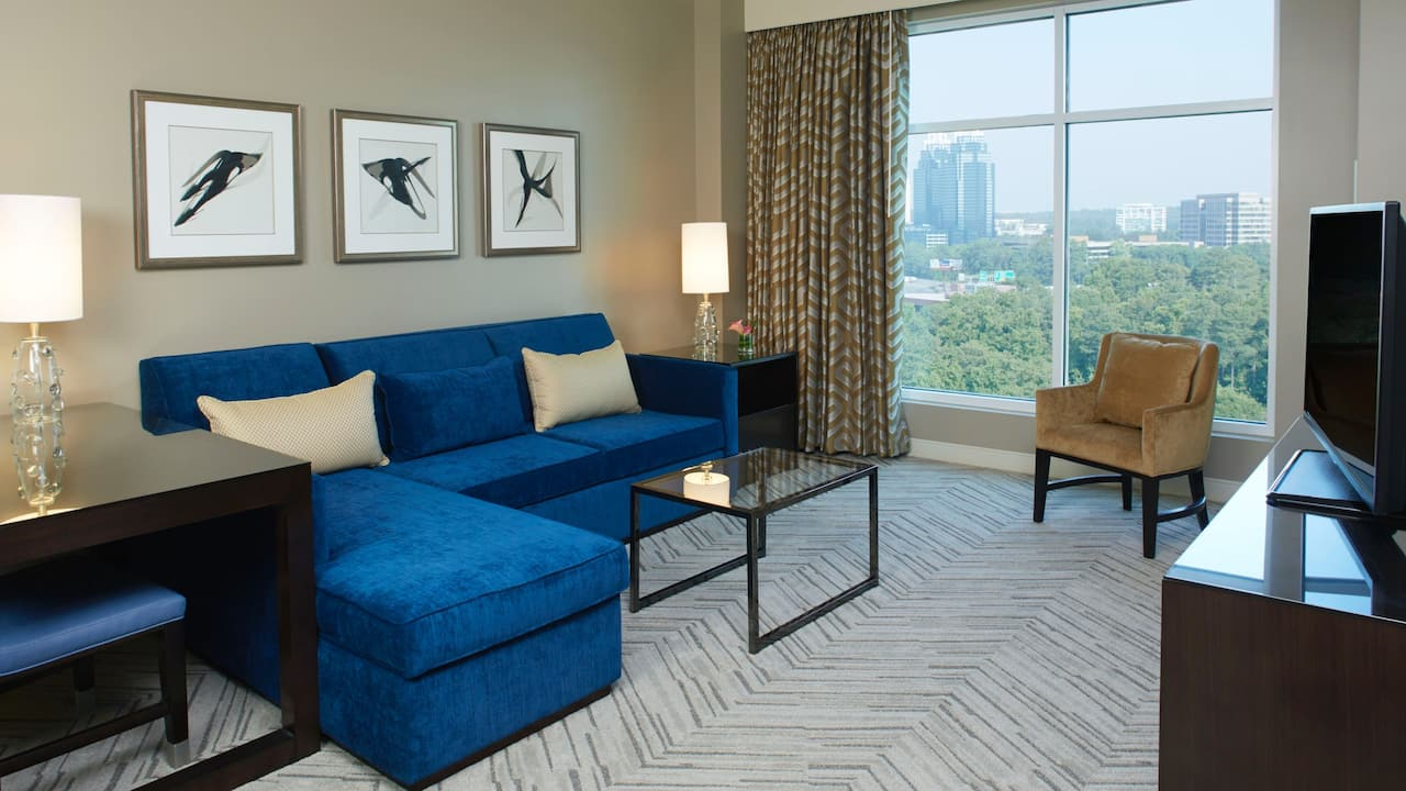 Executive Suite Hyatt Regency Atlanta Perimeter at Villa Christina