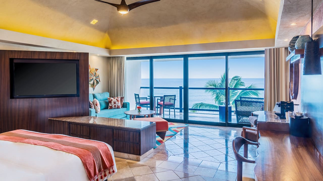 Hyatt Ziva Puerta Vallarta Ocean View King