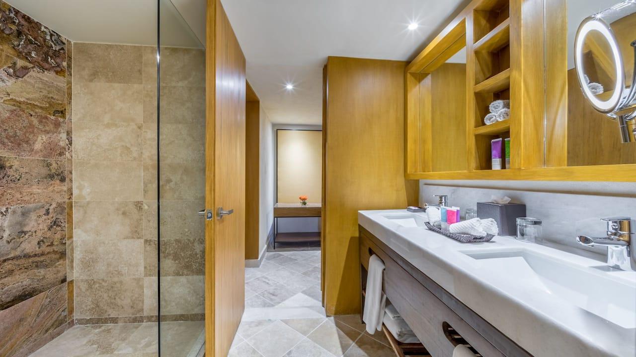 Hyatt Ziva Puerto Vallarta Bathroom