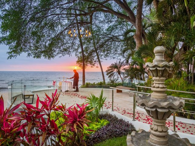Romantic Dinner Terrace