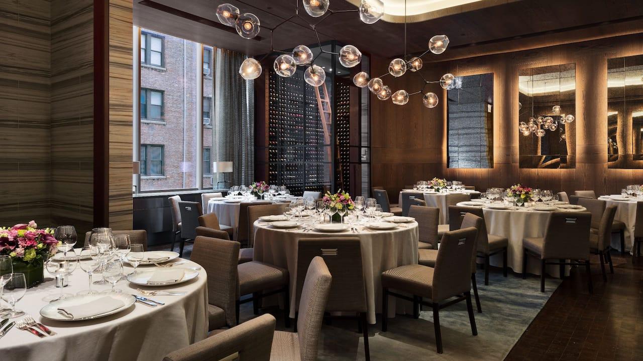 Park Hyatt New York Meeting Venue: Bevy banquet space