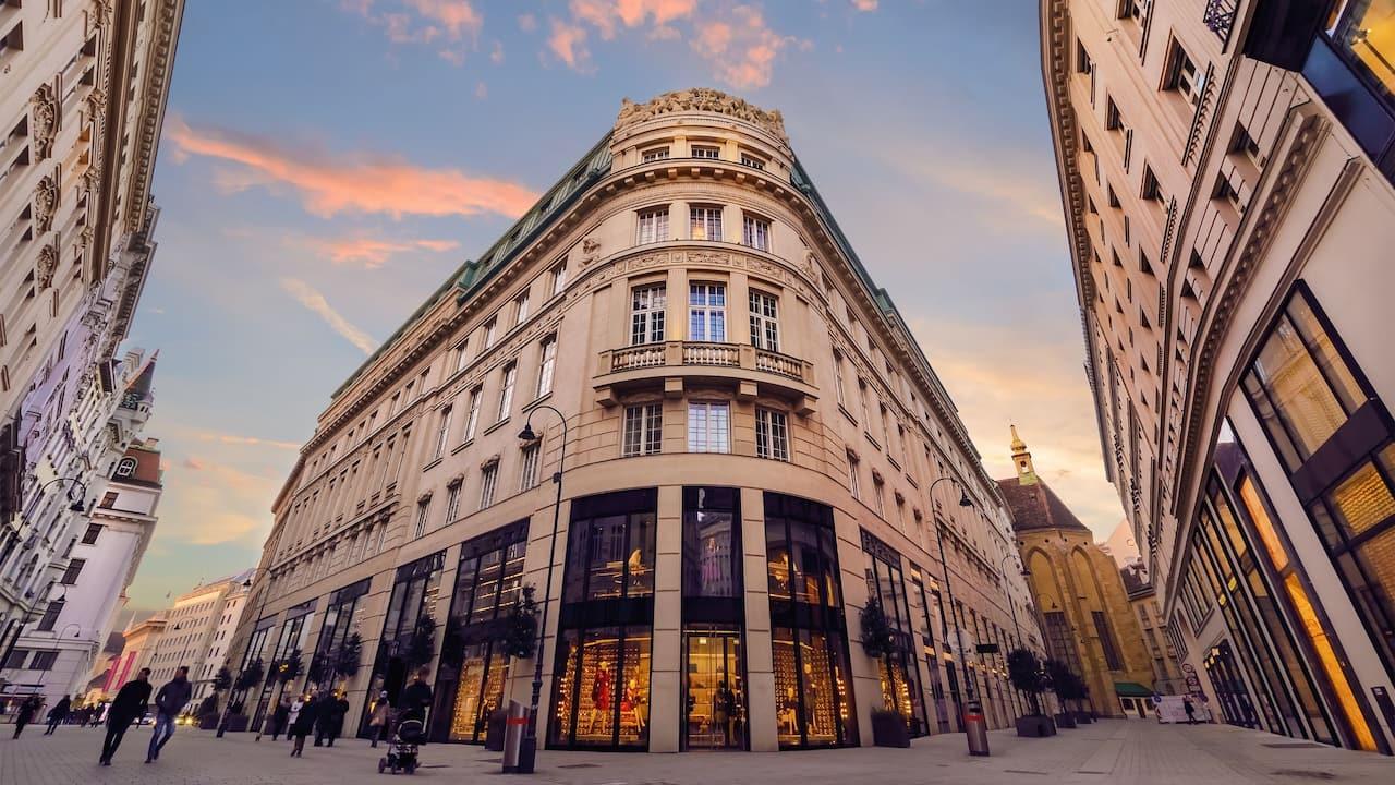 Vienna Golden Quarter Shopping Area