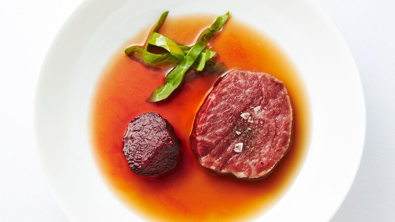 Berce - beef tenderloin dinner