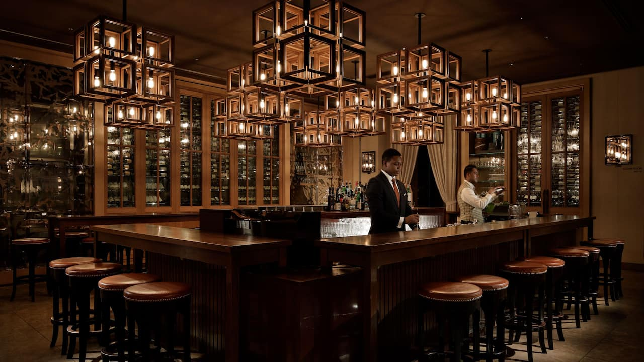 Grand Hyatt Tokyo The Oak Door Bar グランド ハイアット 東京 オーク ドア バー