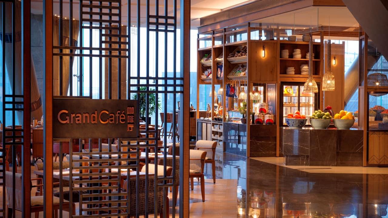 Grand Cafe Entrance