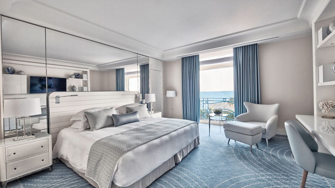 Premium Sea View Room at Hotel Martinez Cannes by Hyatt