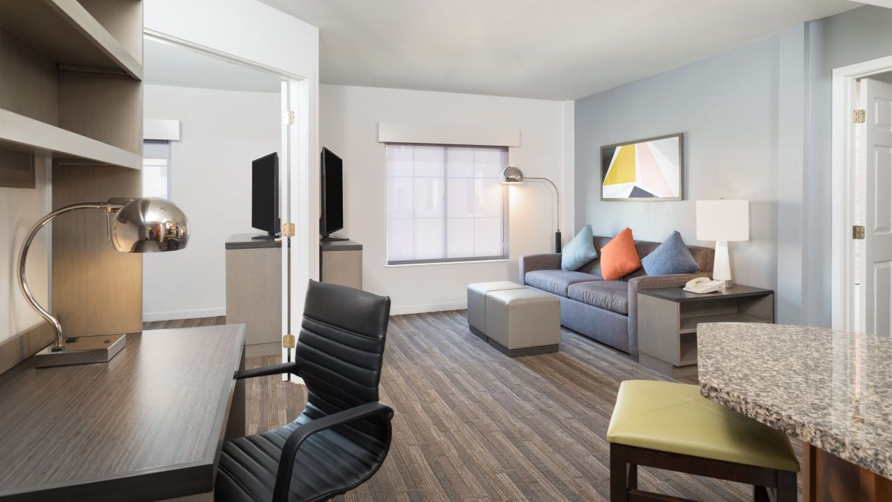 Hyatt House White Plains guest room