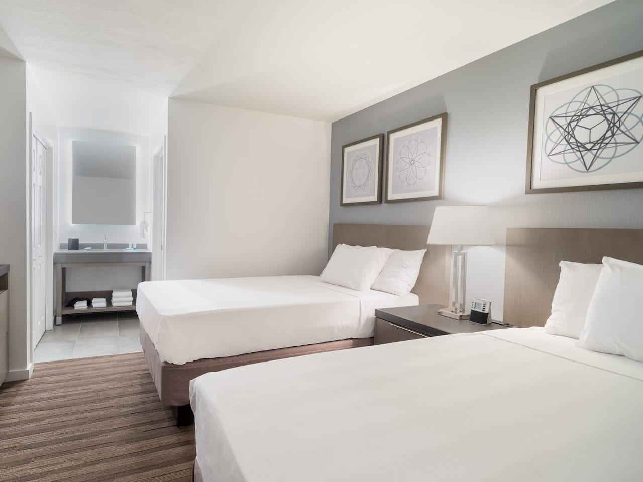 Hyatt House White Plains guest room