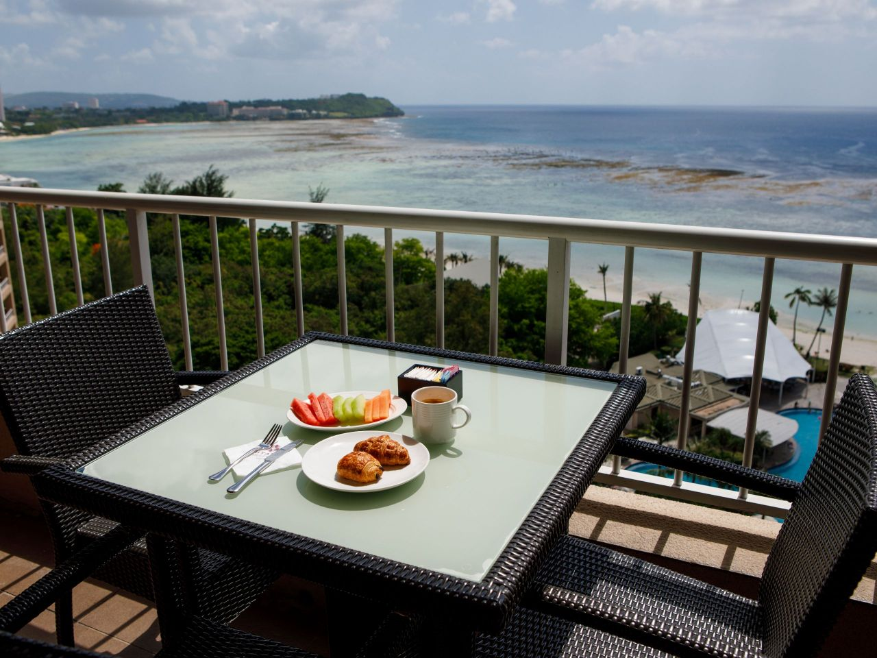 Regency Club Balcony Breakfast
