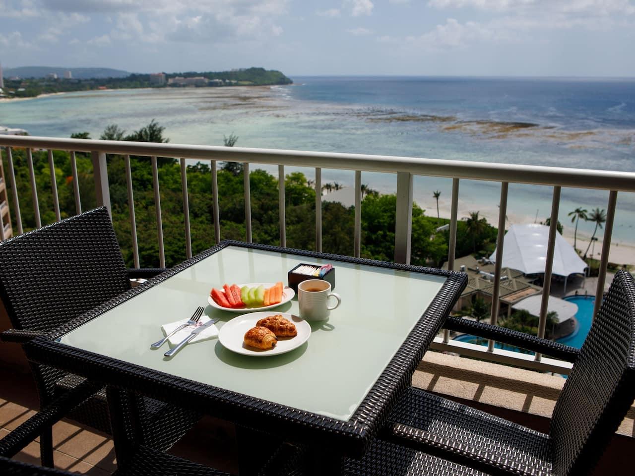 Regency Club Balcony Breakfast